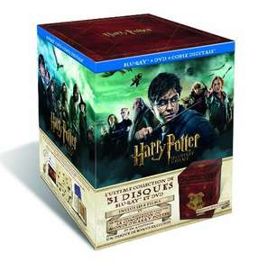Harry Potter Zauberer Collection Blu-ray/DVD für 139,86€ @Amazon.fr