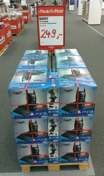 PS3 500GB BATMAN ARKHAM ORIGINS für 249,- €