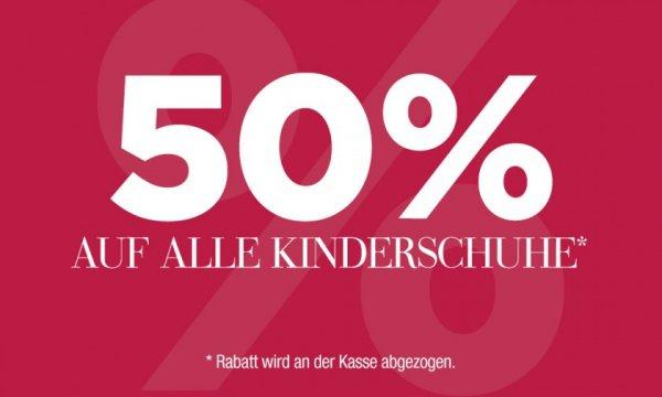 50% auf alle Kinderschuhe bei RENO [Bundesweit]