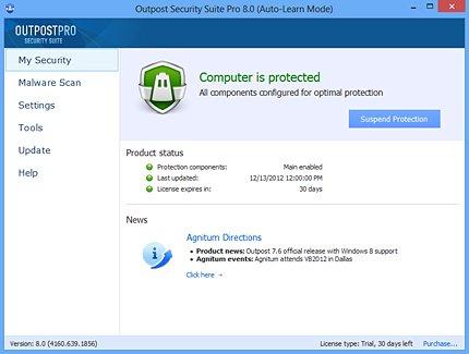 Outpost Security Suite @ SoS [1 Jahr Lizenz]
