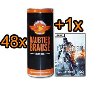 48x Raubtierbrause [EnergyDrink] + BF4/CoD:Ghosts