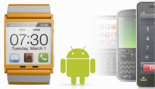 """Android Bluetooth Uhr """"imWatch"""" vorbestellen und 20 % sparen"""
