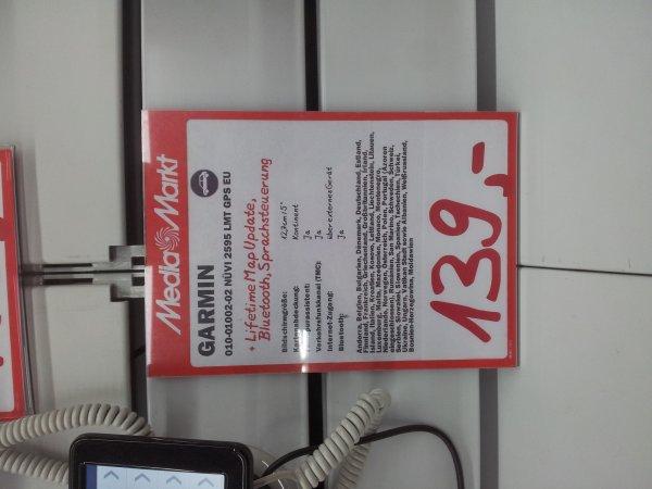 Navigationsgerät Garmin Nüvi 2595 lmt für 139€ [lokal, offline, Stuttgart]