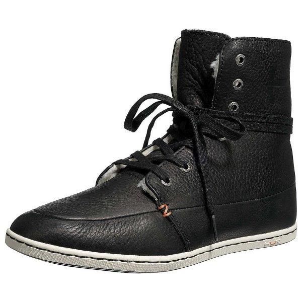 HUB Chess L Sneakers - Lederschuhe für Herbst/Frühjahr in braun oder schwarz