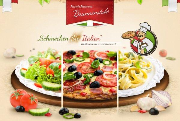 PIZZA oder PASTA nach Wahl + Salatplatte ab 3,70€ [Lokal]
