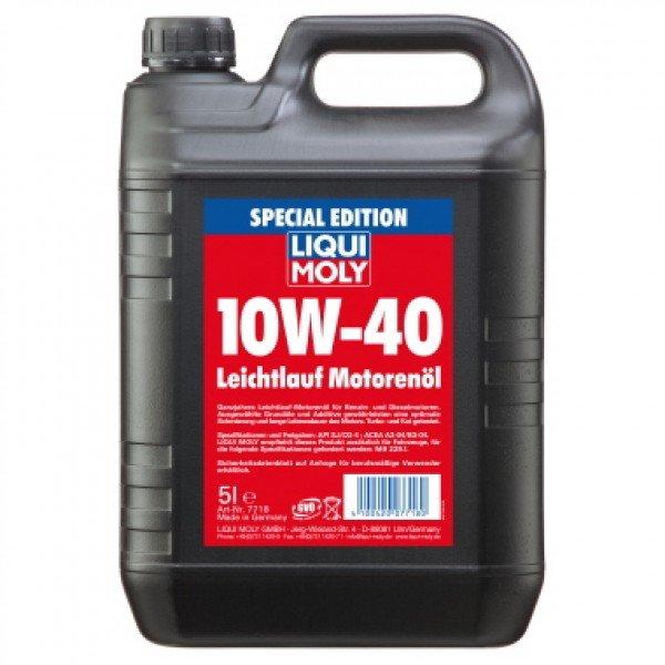 LIQUI MOLY Leichtlauf-Motorenöl 10W-40 Special Edition 5l für 14,99€ bei KAUFLAND