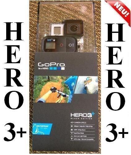 GoPro HD HERO3+ BLACK Edition