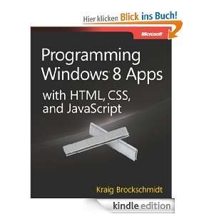 [Kindle] Programming Windows® 8 Apps with HTML, CSS, and JavaScript