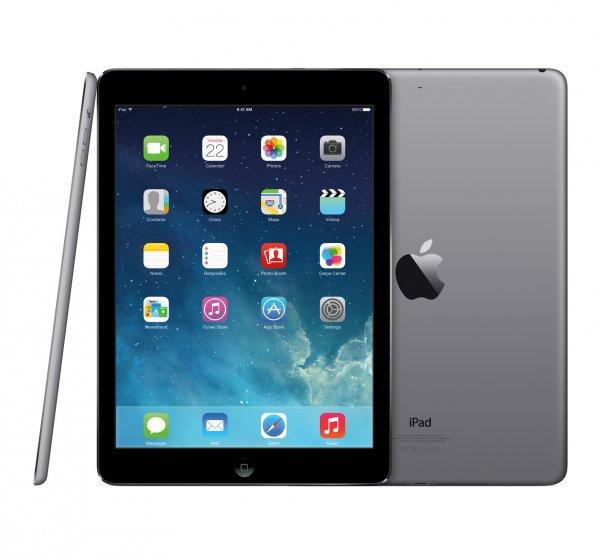 Apple iPad Air 32GB Wi-Fi für € 537,50 inkl. MwSt. Versandkostenfrei  bei notebooksbilliger
