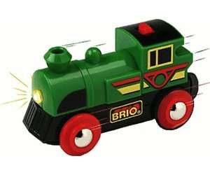 "BRIO ""Speedy Green Batterielok"" 33595 @ Amazon"