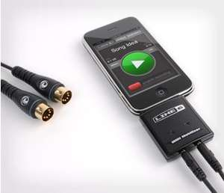 LINE6 MIDI Mobilizer II MIDI Interface für Apple iPhone, iPad und iPod  13,90 € nächster Preis 45 € Preisfehler ???
