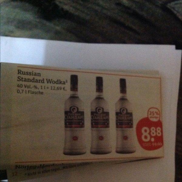 Russian Standard Wodka