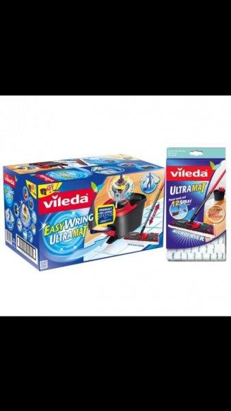 (Ebay) vileda 141791 EasyWring Ultramat Set, Wischmop + PowerSchleuder + Gratis Bezug für nur 39,90€ inkl. Versand