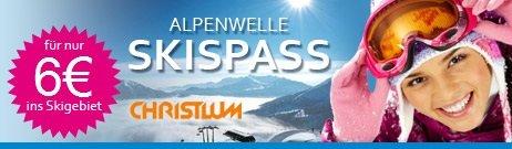 Ski-Tagespass Christlum nur 6 Euro (statt 38 Euro) - nur am Samstag 25.01.