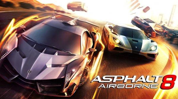 Asphalt 8: Airborne Windows 8 und Windows Phone 8 - jetzt kostenlos!!!