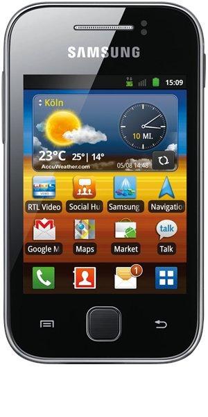 Smartphone Samsung Galaxy Y für 49€ bei Base