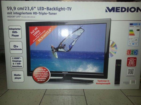 "Medion Life  59,9cm/23,6"" LED-Backlight-TV  NEU"
