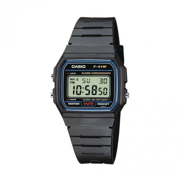 Die beliebte Casio Herren-Armbanduhr Digital Quarz F-91W-1YEF für 4,77€