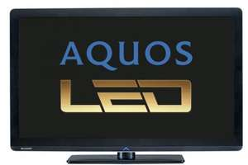 SHARP LC 37 LE 320 E LED Fernseher 100Hz DVB-T/C USB