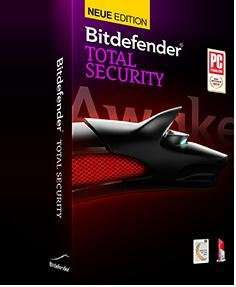 Bitdefender Total Security 2014 als Download für 3 PCs, 1 Jahr - 11 Euro!