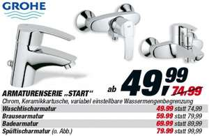 Grohe Start Armaturen ab 43,99 €