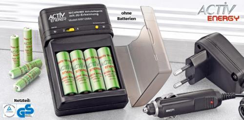 ACTIV ENERGY® Kompakt-Ladegerät @ ALDI SÜD ab Donnerstag, 30 Juni 2011
