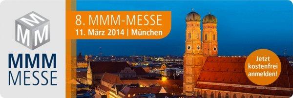 [Freitickets] 8. MMM Messe für Versicherungs- und Finanzdienstleister im MOC München
