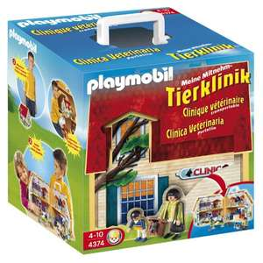 Playmobil™ - Meine Mitnehm-Tierklinik (4374) ab €20,60 [@Galeria-Kaufhof.de]