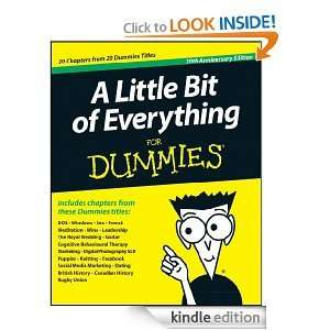 "Gratis Kindle-eBook ""A Little Bit of Everything For Dummies"" (OV engl.)"