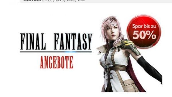 Final Fantasy 50% im PS Store