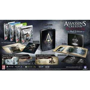 ASSASSINS CREED IV: BLACK FLAG - SKULL EDITION XBOX 360 für 32,92€