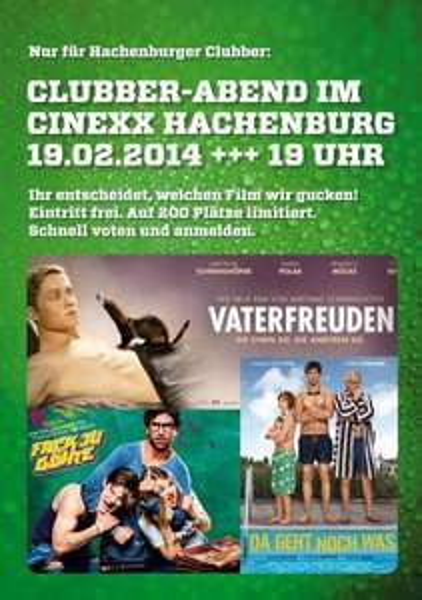 """[lokal Hachenburg] kostenlos ins Kino zu """"Fack Ju Göhte"""", """"Vaterfreuden"""" oder """"Da geht noch was"""" am 19.02. & FREIBIER !"""