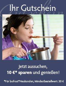 10€ Gutschein bei Bofrost (für Neukunden)