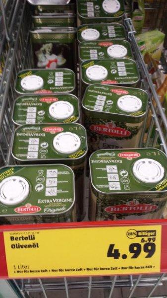 Bertolli Olivenöl 1L für 4,99 bei Penny Jöhlingen (75045)