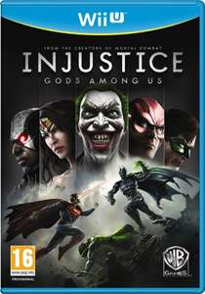 Injustice Götter unter uns (Wii U) für 12,98 € inkl. Versand & deutscher Sprachausgabe @ shop4de.com (UK)
