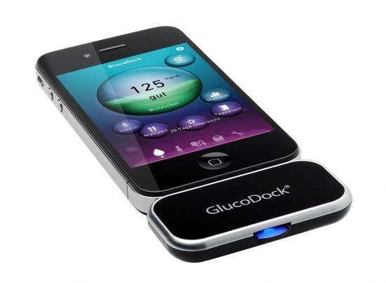 Medisana GlucoDock: iOS-Blutzuckermessgerät