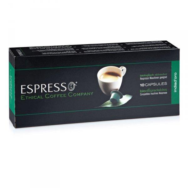 ECC Indiadóro - Nespresso kompatible Kapseln (10 Stück) @ Saturn.de für 0,99 EUR