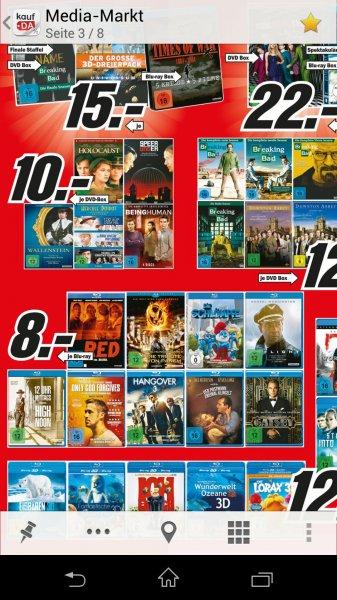 (Lokal Media Markt Berlin) Blu-Rays für 8 € u.a. Flight, Der große Gatsby, Only God Forgives
