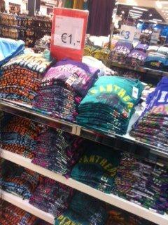 offline @ Primark Karlsruhe: T-Shirts für 1 €