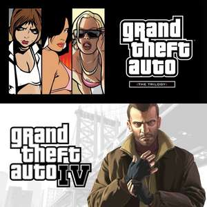 GTA TRILOGY + GTA IV oder Max Payne Complete Edition @Amazon.com [Steam]