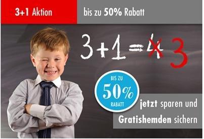 Olymp 3+1 Aktion - bis zu 50% sparen