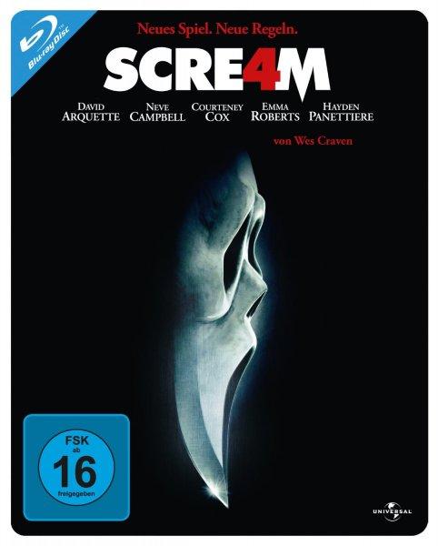 Amazon.de Scream 4 Steelbook Blu-Ray