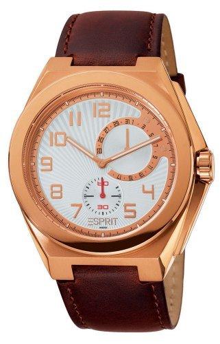 [Amazon] Esprit Herren-Armbanduhr Fine Craft Rose/Brown für 39,68€