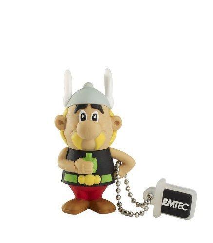 4 GB USB 2.0 Stick EMTEC - Asterix Figur - 2 Euro inkl. VSK