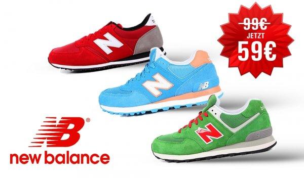New Balance - 59€  574 Modelle verschiedene Farben und Modelle