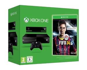 Xbox One Premium Bundle inkl. Fifa 14 DLC Amazon 499,- €