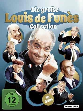 Die große Louis de Funès Collection (16 Discs)