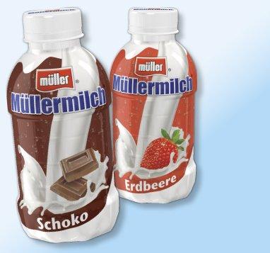 Scondoo: 50 Cent zurück auf eine Flasche Müllermilch, bei Penny für effektiv 0,16 EUR