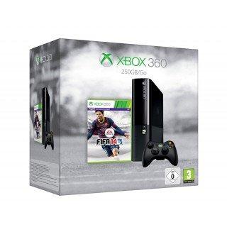 expert (online): Microsoft XBox360 (250GB) Bundle + FIFA 14, Wireless Controller, Headset und 1 Monat Goldmitgliedschaft