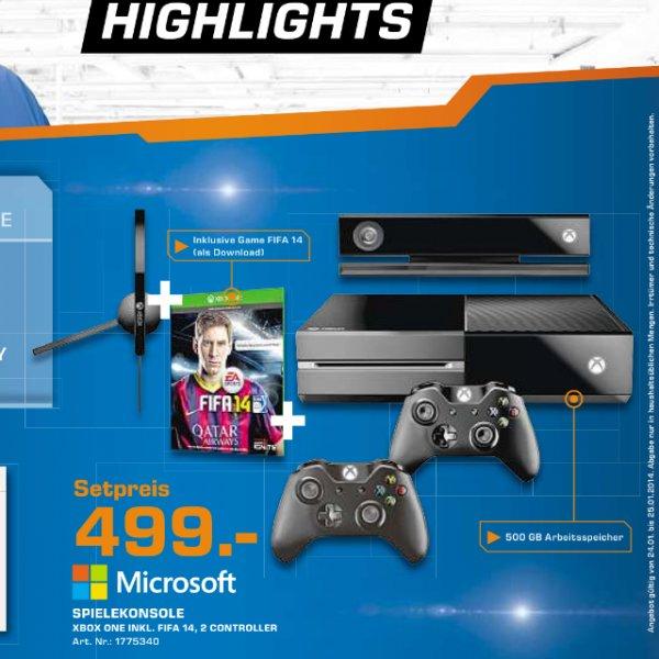 [lokal Bremen] Xbox One mit Fifa 14 und 2tem Controller